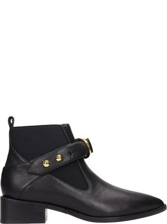Kat Maconie Black Leather Edie Ankle Boots