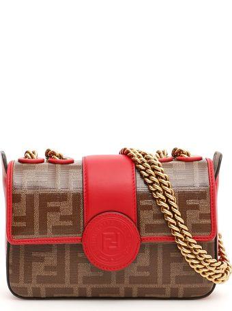 Fendi Ff Mini Bag With Fendi Stamp