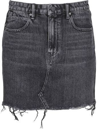 Alexander Wang Frayed Mini Skirt