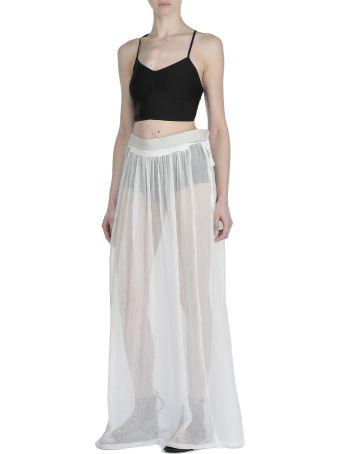 Ann Demeulemeester Silk Skirt