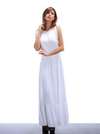Altalana Long Jersey Feminine Dress 27-jet Set