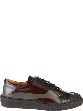 Valentino Garavani Multicolored Lace Up Sneakers