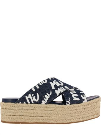 Miu Miu Wedge Shoes Shoes Women Miu Miu