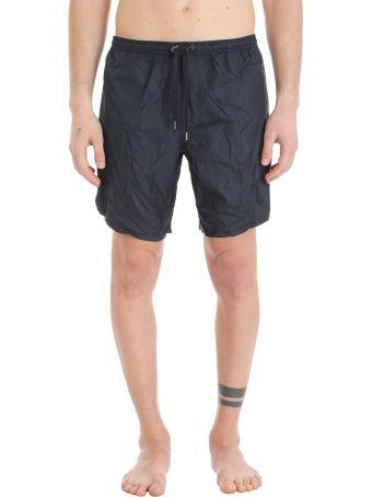 Neil Barrett Blue Nylon Swimwear