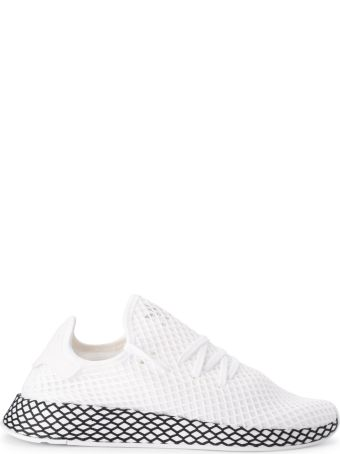 Adidas Originals Deerupt White Mesh Sneakers