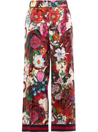 Gucci Flora Tiger Pants