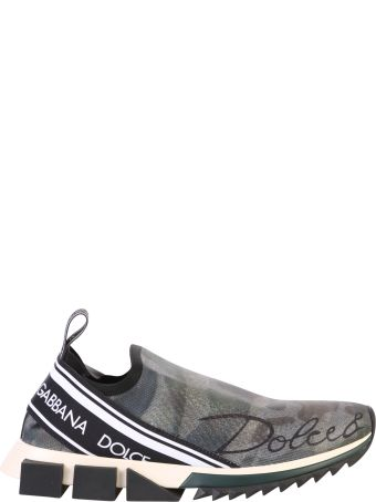 Dolce & Gabbana Multicolored Camouflage Sneakers