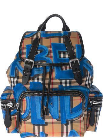Burberry Graffiti Print Backpack