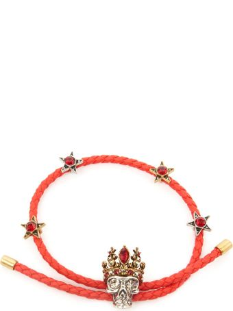 Alexander McQueen 'queen Friendship' Bracelet