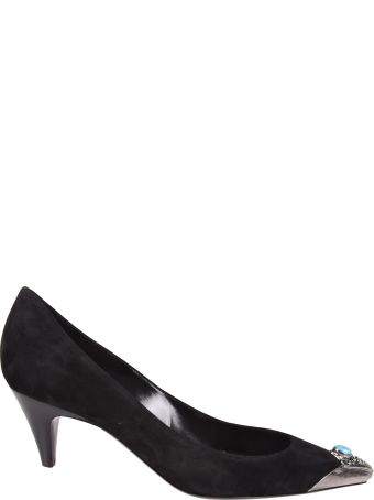 Saint Laurent Charlotte 55 Tip Pumps