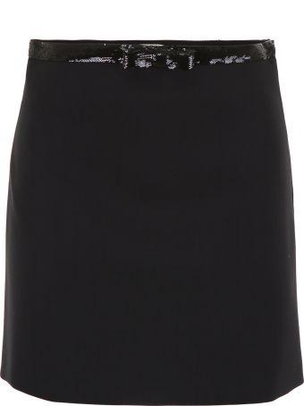 Miu Miu Mini Skirt With Sequins