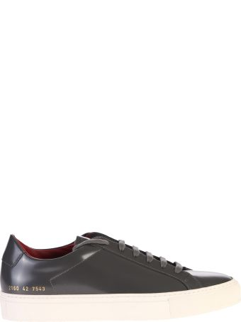 Common Projects Brushed Leather Sneakers