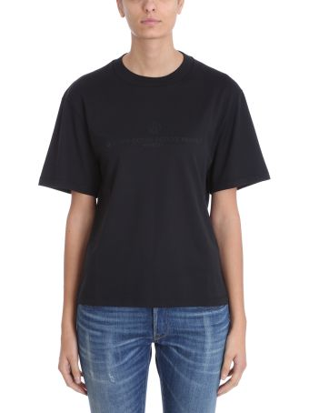 Golden Goose Black Cotton T-shirt