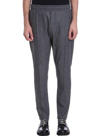 Low Brand Grey Wool Pants