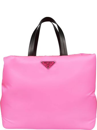 Prada Logo Medium Shopper Bag