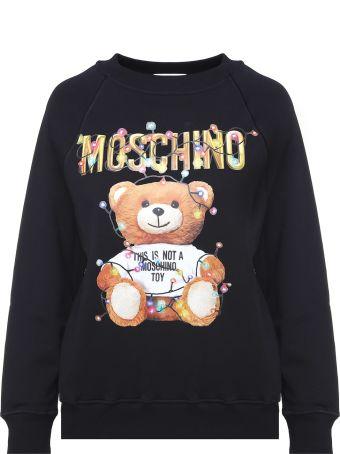 Moschino Teddy Christmas Cotton-jersey Sweatshirt