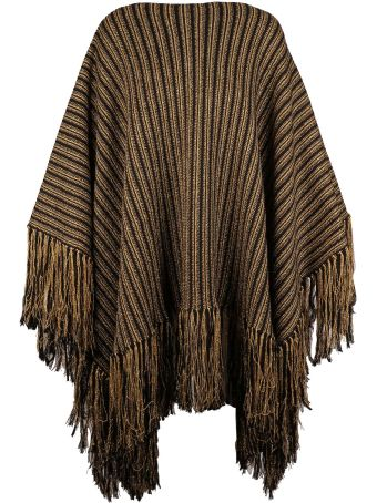 Saint Laurent Striped Poncho