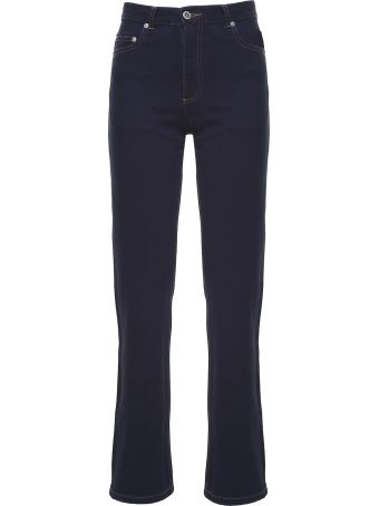 A.P.C. Standard Court Japanese-cotton High-rise Jeans