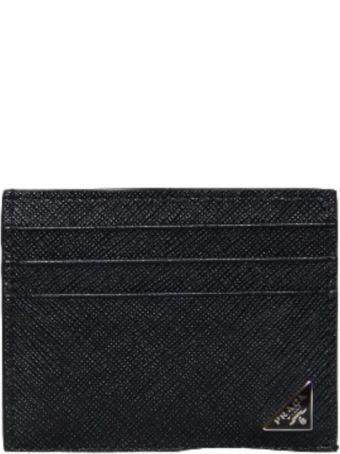 Prada Logo Card Case