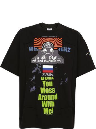 VETEMENTS - Patchwork T-shirt