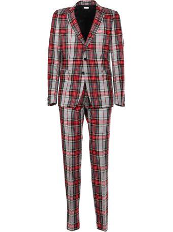 Dries Van Noten Checked Vintage Suit
