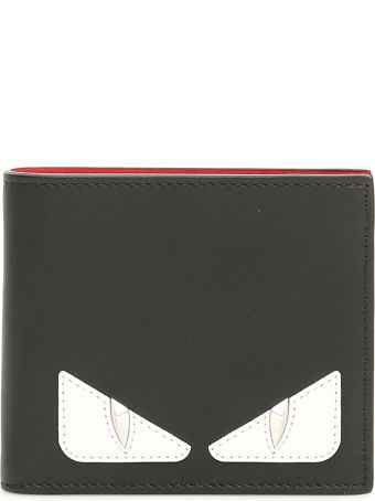 Fendi Century Calfskin Bi-fold Wallet