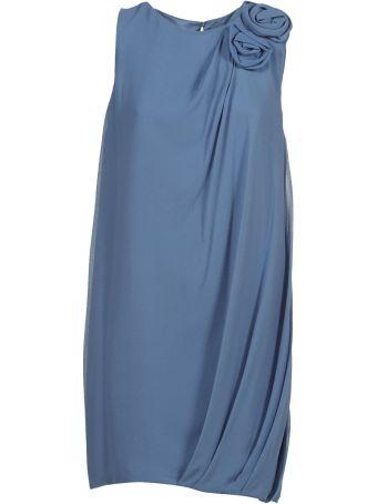 Lanvin Paris Rosette Dress