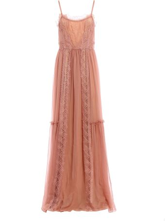 Alberta Ferretti Lace Maxi Dress