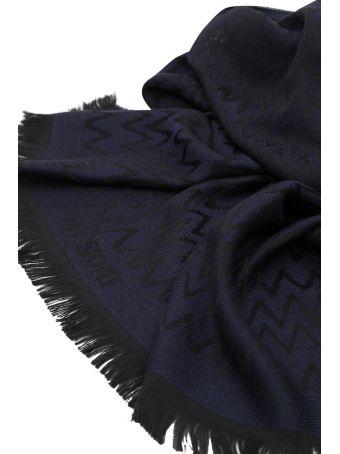 Missoni Blue Scarf