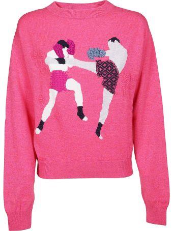 Barrie Embroidered Sweatshirt
