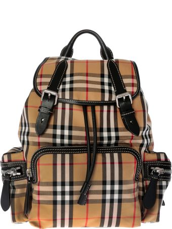 Burberry Medium Rucksack In Vintage Check Backpack