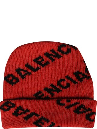 Balenciaga Logo All Over Beanie