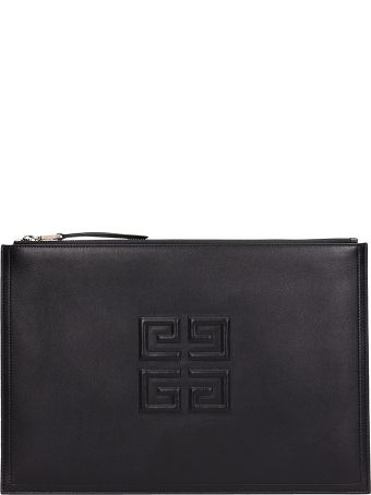 Givenchy Black Emblem Large 4 G Pouch