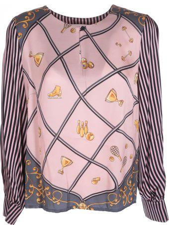 Shirt a Porter Printed Blouse