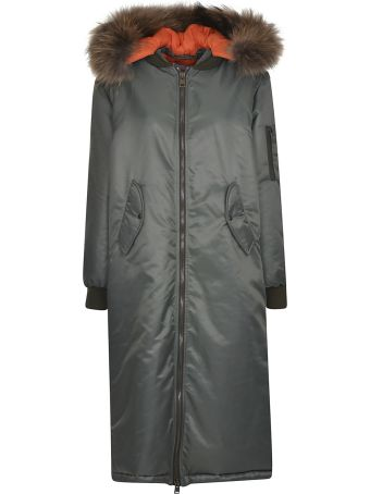 Forte Couture Zip-up Parka