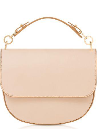 Sophie Hulme Genuine Leather Medium Bow Bag