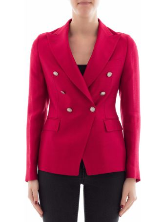 Red Fabric Jacket
