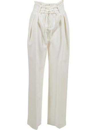 Iro Lace-up Waist Trousers