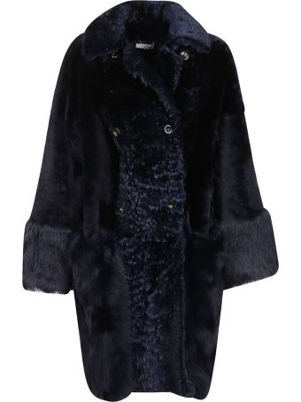 Desa 1972 Desa Double Breasted Faux Fur Coat
