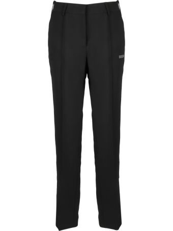 Off-White Pleated Logo Trousers
