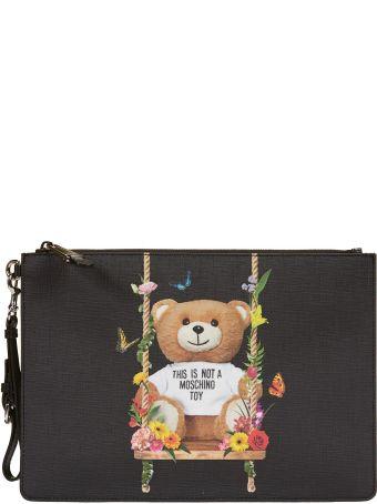 Moschino Toy Bear Clutch
