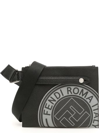 Fendi Logo Messenger Bag