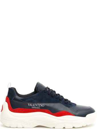 Valentino Leather Bansi Sneakers