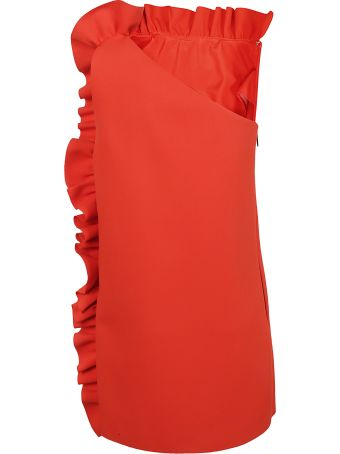 MSGM Frilled Dress
