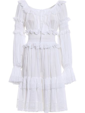 Dolce & Gabbana L/s Cotton Dress