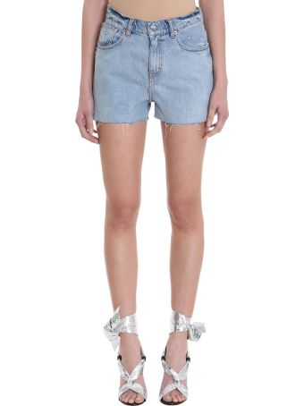 IRO Gwen Blue Denin Shorts