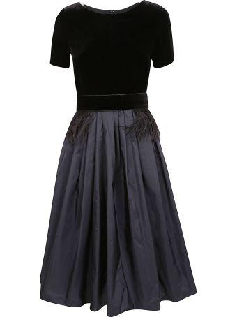 Max Mara Pleated Skirt Dress