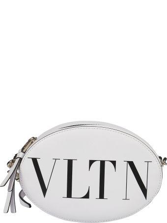 Valentino Logo Print Shoulder Bag