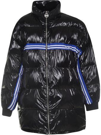 GCDS Logo Band Padded Jacket