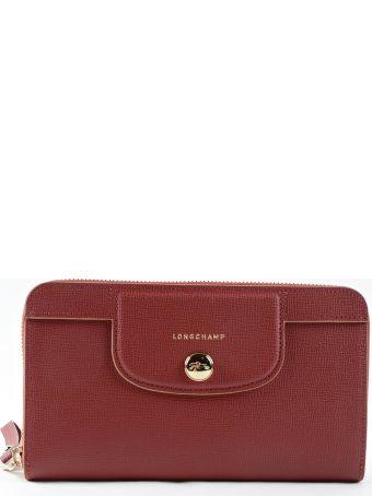 Longchamp Le Pliage Heritage Zip Around Wallet